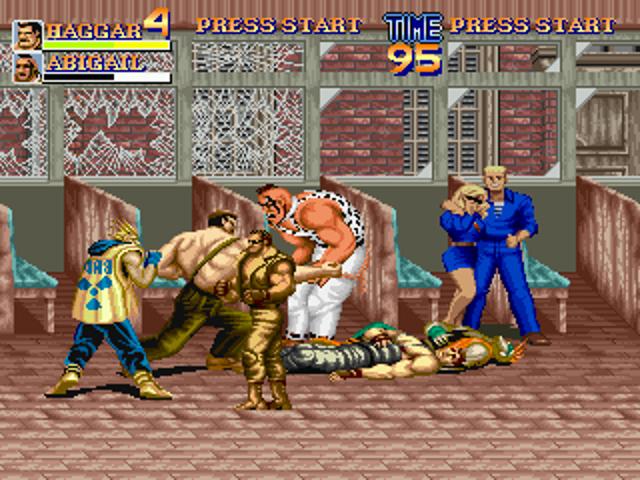 Final fight X - 0011