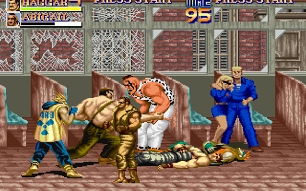 Final Fight X