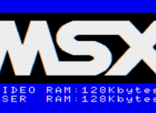 MSX splash screen