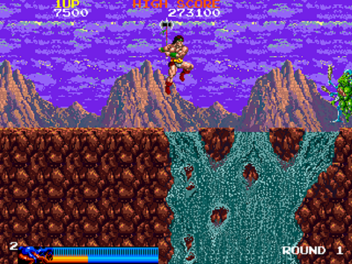 [Review] Rastan Saga (Arcade)