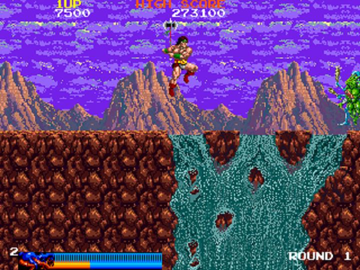 [Review] Rastan Saga (Arcade)