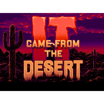 It Came From The Desert ITA (amiga/win)