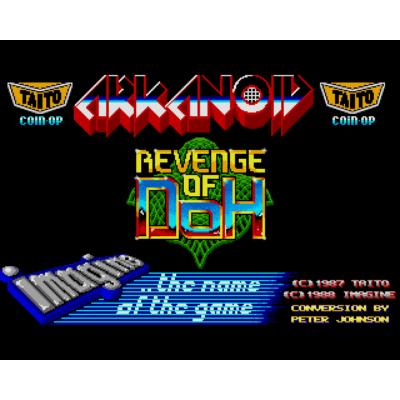 Arkanoid: Revenge of Doh (amiga/win)