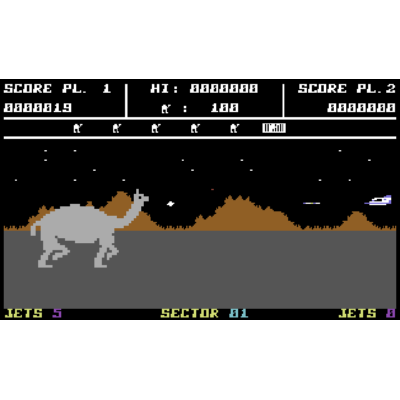 Attack of The Mutant Camels (c64/win)