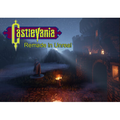 Castlevania Remade in Unreal (win)