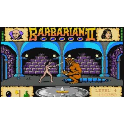 Barbarian: The Ultimate Warrior + Barbarian II: The Dungeon of Drax (amiga/win)